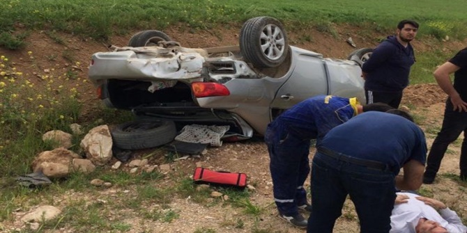 Batman-Hasankeyf yolunda kaza: 1 yaralı