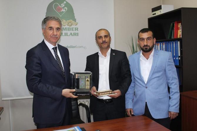 Elazığ Belediye Başkanından Yeni İhya-Der'e ziyaret