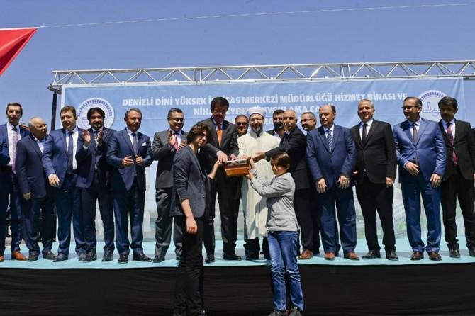 Bakan Zeybekci adına cami