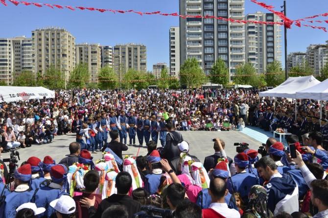 Diyarbakır'da 23 Nisan kutlamaları