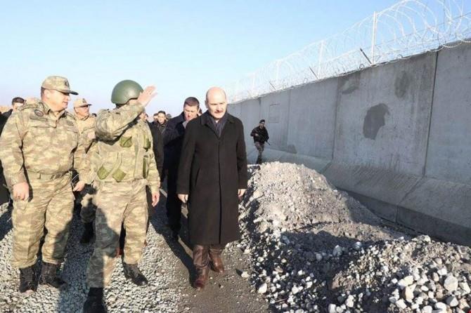 Türkiye-İran sınırına yapılan güvenlik duvarında sona gelindi