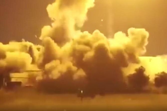 İşgalci siyonistler esaret altındaki Filistinlinin evini patlattı