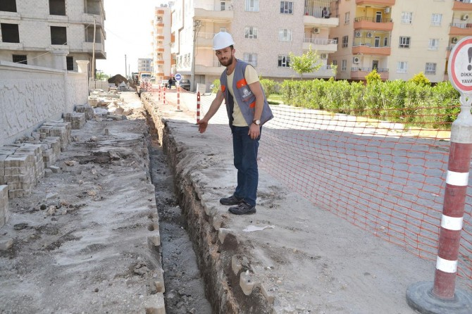 Viranşehir'de doğal gaz çalışmaları başladı