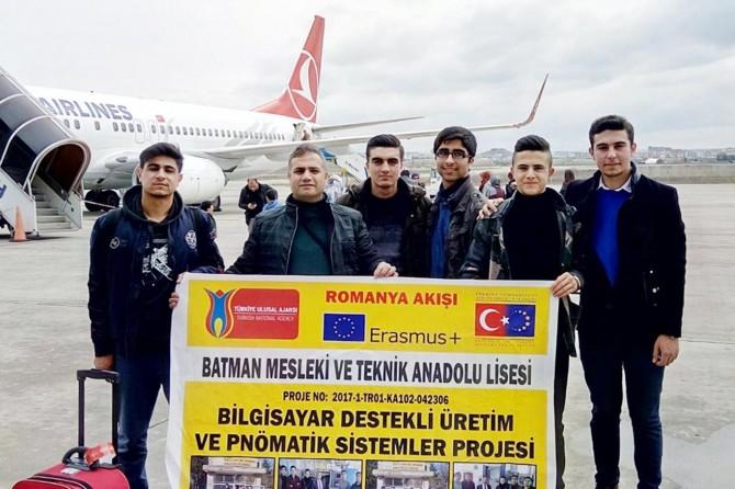 Batmanlı öğrenciler staj için Romanya'ya gidecek