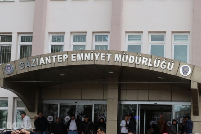 Gaziantep emniyetinden silah çalınmasına ilişkin 4 tutuklama