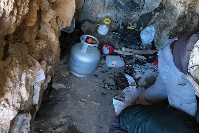 Van'da PKK'nin kış üslenme alanlarına yönelik operasyon