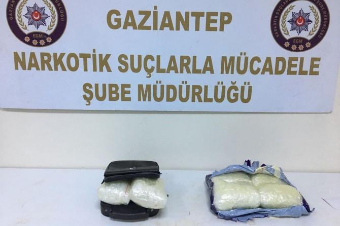 Gaziantep'te uyuşturucu operasyonu: 4 tutuklama