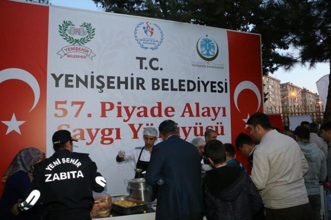 Diyarbakır'da 57'nci Alaya Vefa yürüyüşü düzenlendi