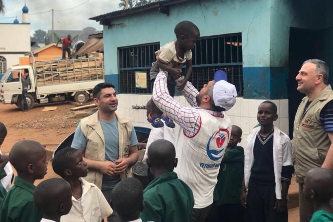 Weqfa Yetîman li Ugandayê projeyên mûhîm dide tetbîqkirin