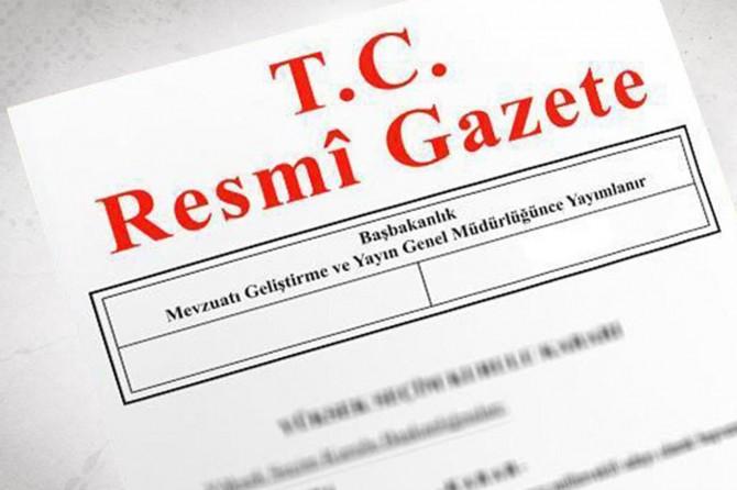 """""""Anayasa Değişiklik Uyum Paketi"""" Resmi Gazete'de"""