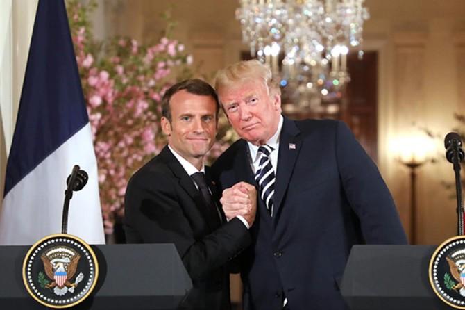 Macron: Trump, İran ile anlaşmayı bozabilir
