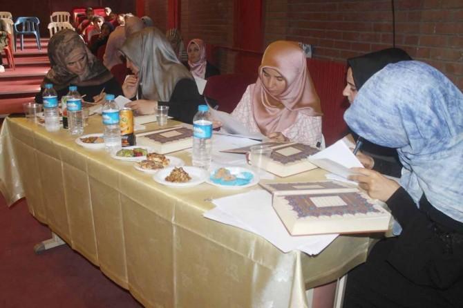 Kur'an-ı Kerimi güzel okuma yarışmasının finali yapıldı