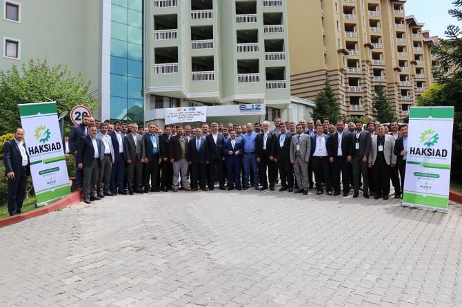 HAKSİAD'ın İş Adamları Buluşma Toplantısı sona erdi