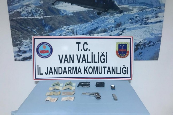 Başkale'de PKK operasyonu: 1 gözaltı