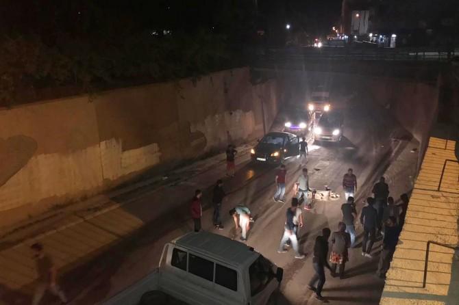 Nusaybin'de motosiklet kazası: 1 yaralı