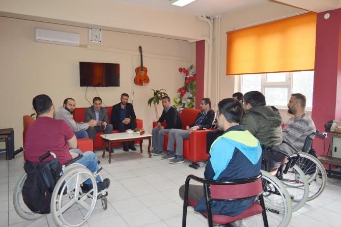 HÜDA PAR Bitlis milletvekili aday adayından engellilere ziyaret