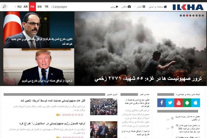 İLKHA Farsça yayına başladı