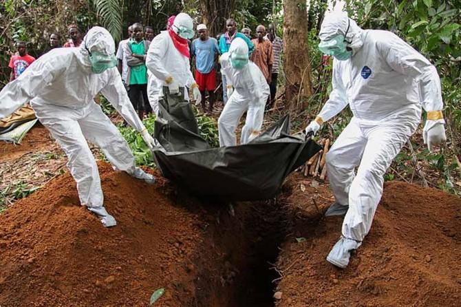 Afrika'da ebola salgını
