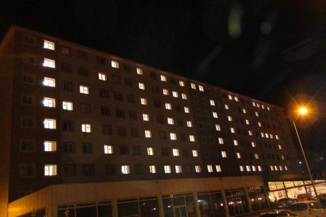 Yurt ışıkları Kudüs için yandı