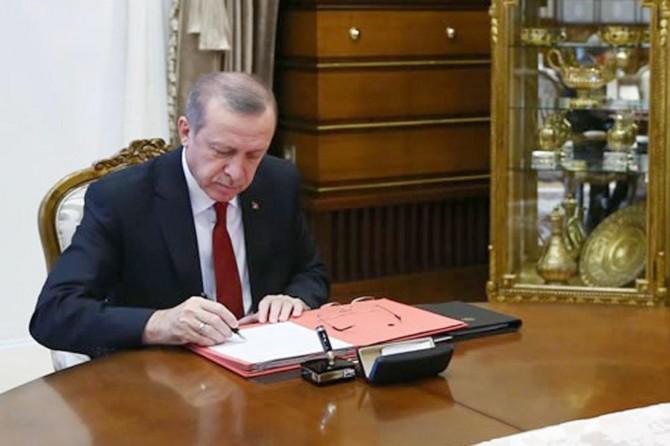 Erdogan damezradina 20 zanîngehan tesdîq kir