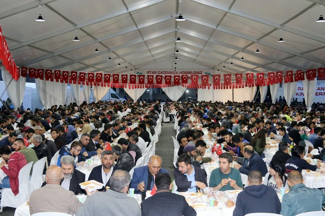 Van Büyükşehir Belediyesi'nde iftar programı