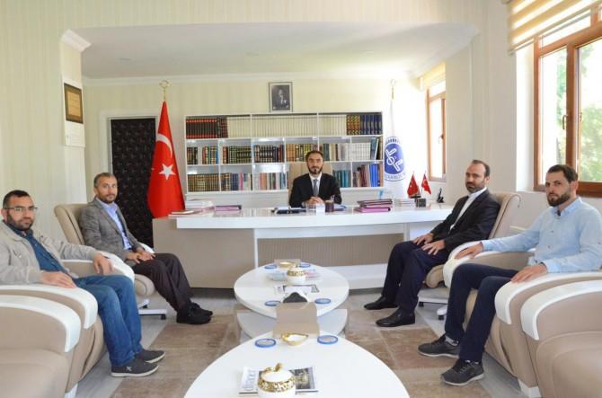 İLKHA'dan yeni Diyarbakır Müftüsü Yavuz Selim Karabayır'a ziyaret
