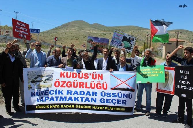 Kudüs için düzenlenmek istenen basın açıklamasına 7'nci ret