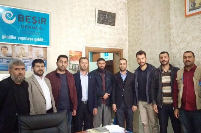 HÜDA PAR Ağrı milletvekili aday adaylarından STK ziyaretleri