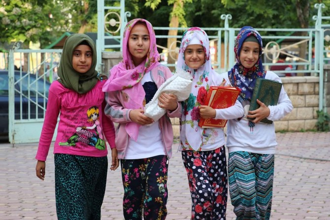Gaziantepli çocukların Ramazan ve oruç sevinci