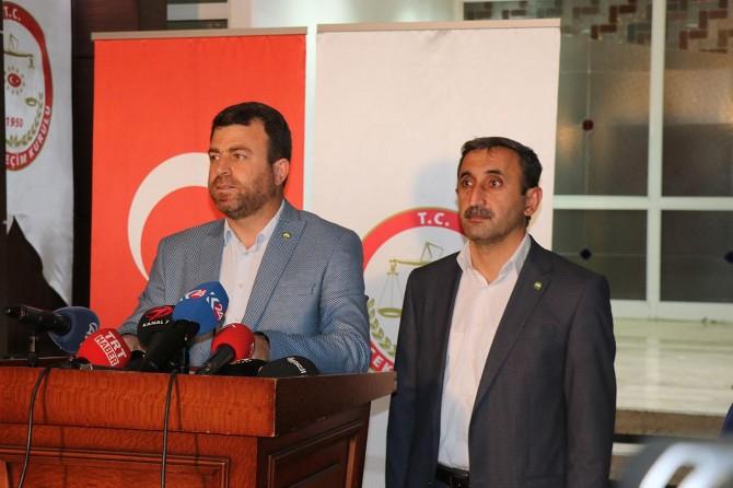 HÜDA PAR milletvekili aday listelerini teslim etti