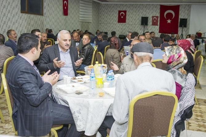 """""""Huzurla kardeşliğin zirve yaptığı iftar anlarını hep beraber yaşıyoruz"""""""