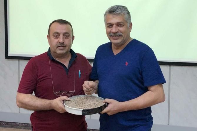 Yılın ilk mercimeği Gaziantep'e getirildi
