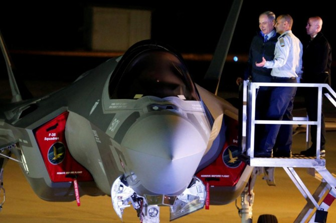 Siyonistler Suriye'ye saldırıda F-35 kullandı