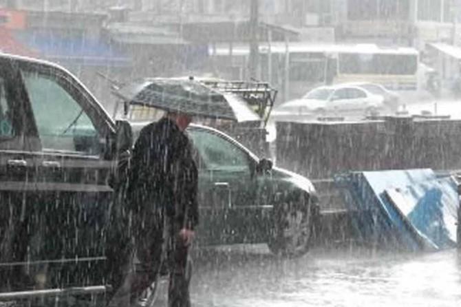 Meteorolojiden yerel kuvvetli yağış uyarısı