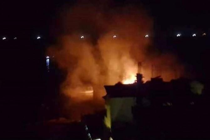 Siyonistler Gazze'deki tekneleri vurdu