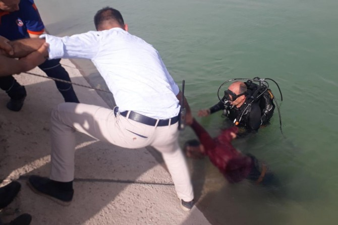 Maraş'ta sulama kanalına giren genç boğuldu