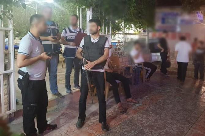 Mardin'de asayiş uygulaması: 12 gözaltı