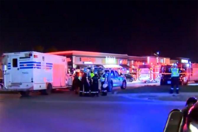 Kanada'da restorana saldırı: 15 yaralı