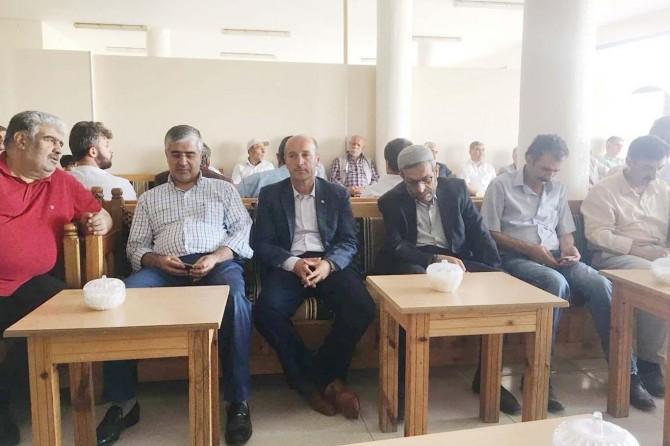 Tasmanoğlun'dan Özsoy ailesine taziye ziyareti