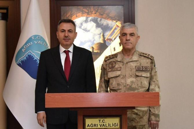 Jandarma Genel Komutanı Ağrı'da