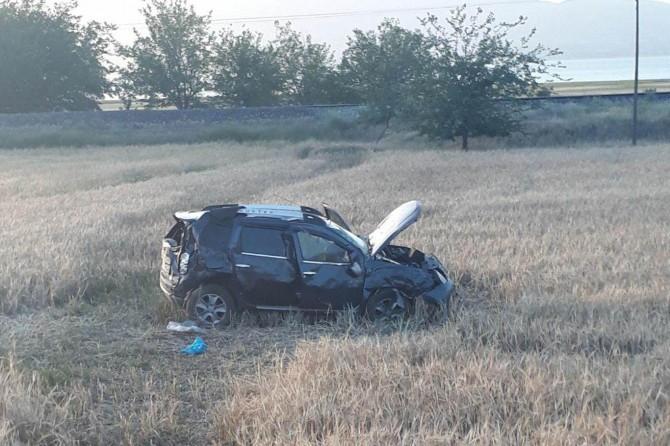 Elazığ Kovancılar'da kaza: 1 ağır yaralı
