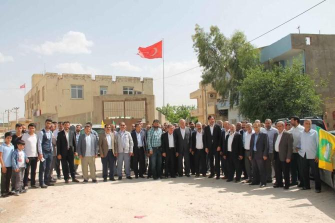 HÜDA PAR Ortaköy'de seçim bürosu açtı