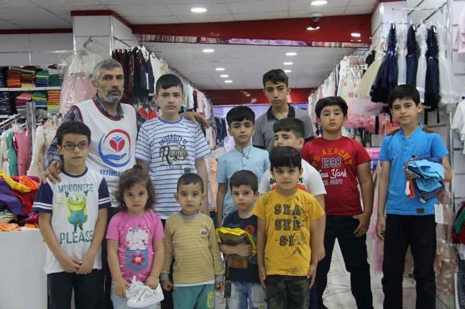 Yetimler Vakfı Diyarbakır'da 240 yetimin yüzünü güldürdü