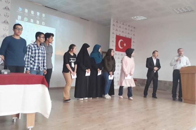 Risale-i Nur'dan bilgi yarışması düzenlendi