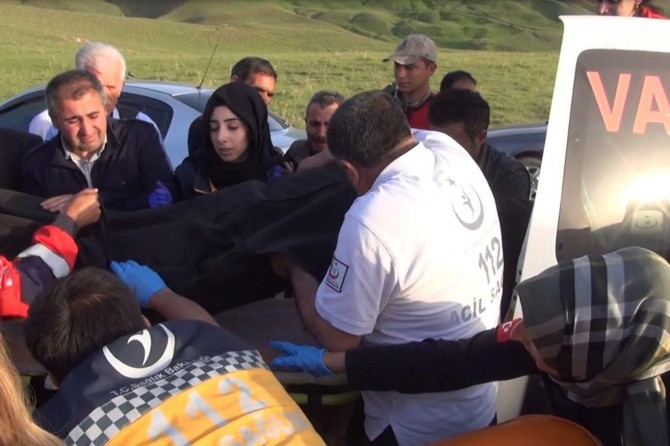 Van Erek Dağı eteklerinde çocuklar kayalıklardan düştü: 1 ölü 2 ağır yaralı