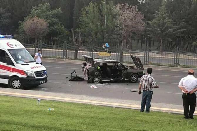 Gaziantep'te trafik kazası: 1 ölü 14 yaralı