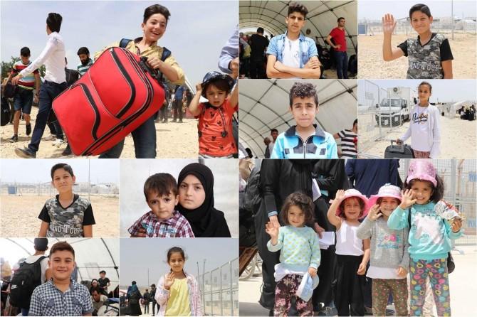 Suriyeli çocuklardan savaş bitsin çağrısı