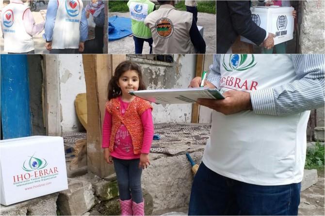 İslami STK'ların Ramazan yardımları sürüyor