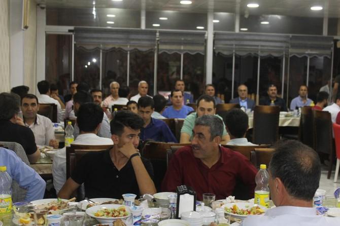 Milli eğitim camiası iftar yemeğinde buluştu