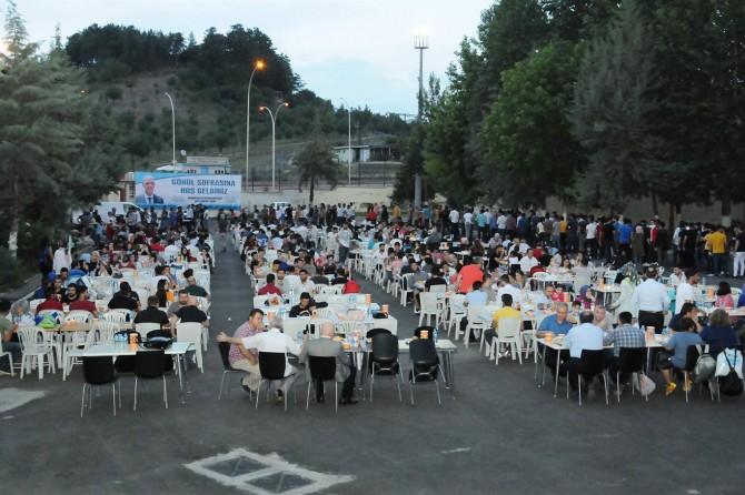 Üniversiteli öğrencilerden iftar teşekkürü